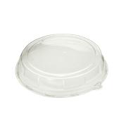 DOM05216-50 Καπάκι Διάφανο Στρογγυλό Φ40x8cm, PET, Μίας Χρήσης, Sabert