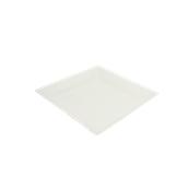 PUL2024 Πιάτο Ρήχο Τετράγωνο 15x15cm, από ζαχαροκάλαμο, Μίας Χρήσης, Εκρού, Sabert