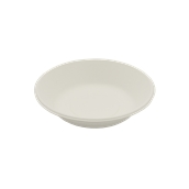 PUL2020 Πιάτο Βαθύ Στρογγυλό Φ18cm, από ζαχαροκάλαμο, Μίας Χρήσης, Εκρού, Sabert