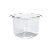 BOW14024TR500 Δοχείο τροφίμων ασφαλείας 750ml, 12x12x9cm, PET (χωρίς καπάκι), Sabert