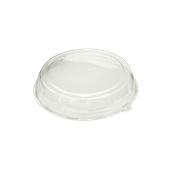 DOM05212-50 Καπάκι Διάφανο Στρογγυλό Φ30x5cm, PET, Μίας Χρήσης, Sabert