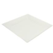 PUL2023 Πιάτο Ρήχο Τετράγωνο 26x26cm, από ζαχαροκάλαμο, Μίας Χρήσης, Εκρού, Sabert
