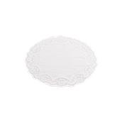 DEN50000026 Πακέτο 250 Χάρτινες Δαντέλες Στρογγυλές Φ26cm, Λευκές,  Sabert