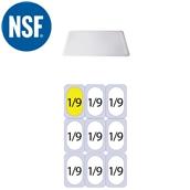 JW-P19SL Καπάκι Σφραγίσματοs Polycarbonate GN1/9 (17.6x10.8cm)