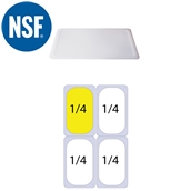 JW-P14SL Καπάκι Σφραγίσματοs Polycarbonate GN1/4 (26.5x16.2cm)