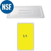 JW-P11HH Καπάκι Polycarbonate GN1/1 (53x32.5cm) - Με Εγκοπη