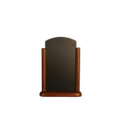 ELE-DB-ME Επιτραπέζια Σήμανση-Πίνακας 6 x 20 x 28cm, σκούρο καφέ, SECURIT