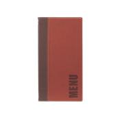 MC-TR45-WR Κατάλογος MENU TRENDY A4/5 για Εστιατόρια / cafe 18x34cm, κόκκινος, SECURIT