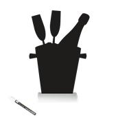 FBTA-CHAMPAIGN Επιτραπέζιο Πινακάκι με Χαρακτηριστικό Σχήμα,σειρά SILHOUETTE SECURIT
