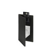 MC-TRBP-BL Θήκη λογαριασμού TRENDY για Εστιατόρια / cafe 13x23cm, μαύρη, SECURIT