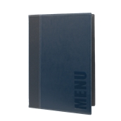 MC-TRA4-BU Κατάλογος MENU TRENDY A4 για Εστιατόρια / cafe 24x34cm, μπλε, SECURIT