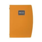 MC-RCA4-OR Κατάλογος MENU A4 RIO για Εστιατόρια / cafe 25x34cm, πορτοκαλί, SECURIT