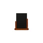 ELE-M-ME Επιτραπέζια Σήμανση-Πίνακας 6 x 20 x 23cm (A5), ερυθρόξυλο, SECURIT