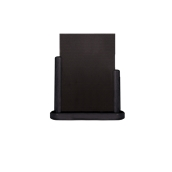 ELE-BL-LA Επιτραπέζια Σήμανση-Πίνακας 7 x 28 x 32cm (A4), μαύρος, SECURIT