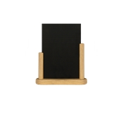 ELE-B-LA Επιτραπέζια Σήμανση-Πίνακας 7 x 28 x 32cm (A4),ανοιχτό ξύλου, SECURIT