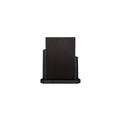 ELE-BL-ME Επιτραπέζια Σήμανση-Πίνακας 6 x 20 x 23cm (A5), μαύρος, SECURIT