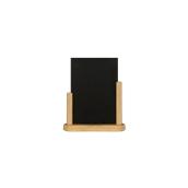 ELE-B-ME Επιτραπέζια Σήμανση-Πίνακας 6 x 20 x 23cm (A5),ανοιχτό ξύλου, SECURIT