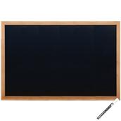 WBW-TE-60-80 Πίνακας επιτοίχιος, 60 x 80 cm, Teak, Οικονομική Σειρά, SECURIT