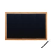 WBW-TE-40-60 Πίνακας επιτοίχιος, 40 x 60 cm, Teak, Οικονομική Σειρά, SECURIT
