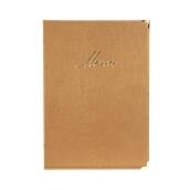MC-CRA4-BI Κατάλογος MENU A4 CLASSIC για Εστιατόρια / cafe 24x36cm, μπεζ, SECURIT