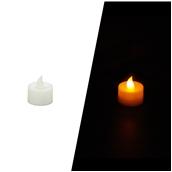 STR014 Ηλεκτρικό κερί που τρεμοπαίζει, πλαστικό περίβλημα, Φ3,2 x 4 cm