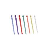 FS-1-T/KG Πακέτο 1 κιλό (περ.1450 τεμ) πλαστικά sticks 90mm, σε διάφορα χρώματα.