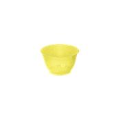 FC100CC Πλαστικό κύπελλο 100cc Διάφανο κίτρινο, Ιταλίας
