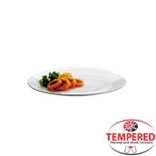PFM-FP-26 Πιάτο Ρηχό Οπαλίνης 26 cm, Λευκό, Tempered, Σειρά Performa, Bormioli Rocco