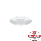 PFM-SC-15 Πιατάκι κούπας Οπαλίνης 15 cm, Λευκή, Tempered, Σειρά Performa, Bormioli Rocco