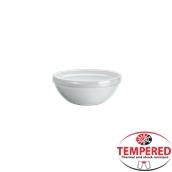 PFM-BL-17 Στοιβαζόμενο Μπωλ Οπαλίνης 17 cm, Λευκό, Tempered, Σειρά Performa, Bormioli Rocco