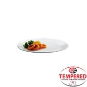 PFM-FP-24 Πιάτο Ρηχό Οπαλίνης 24 cm, Λευκό, Tempered, Σειρά Performa, Bormioli Rocco