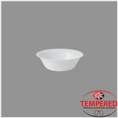 TOL-SB-17 Σαλατιέρα Οπαλίνης 17 cm, Λευκή, Tempered, Σειρά Toledo, Bormioli Rocco