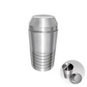 UV.500175(196-8/750ML) Shaker 750ml με φίλτρο (σίτα) Ανοξείδωτο 14/1
