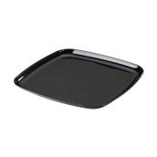 MOZ931405C5 Πιατέλα Τετράγωνη 36x36cm, Μαύρη, PS, Μίας Χρήσης, Σειρά mozaik, Sabert