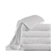 T480PS/50X100 Πετσέτα προσώπου λευκή, χωρίς σχέδιο, 50 x 100 cm, 480gr/m², Πενιέ