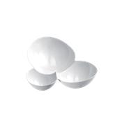 6042-11 Πλαστικό ποτηράκι - μπωλάκι MALECOLA PS 100cc λευκό