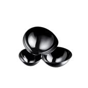 6042-19 Πλαστικό ποτηράκι - μπωλάκι MALECOLA PS 100cc μαύρο