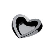 6038-19 Πλαστικό πιατάκι FREE PS 15cc μαύρο