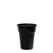 ART.95-300 /BK Ποτήρι Μαύρο 30 cl, 7.2gr μιας χρήσης, Α ποιότητας, PP