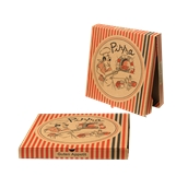 32x32x3 /PIG Κουτί Πίτσας Μικροβέλε PIGIAMA 32x32x3cm, Ιταλίας