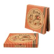 36x36x4.2 /PIG Κουτί Πίτσας Μικροβέλε PIGIAMA 36x36x4.2cm, Ιταλίας