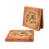 33x33x4.2 /PIG Κουτί Πίτσας Μικροβέλε PIGIAMA 33x33x4.2cm, Ιταλίας
