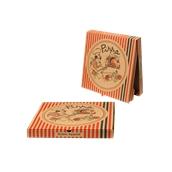 26x26x4.2 /PIG Κουτί Πίτσας Μικροβέλε PIGIAMA 26x26x4.2cm, Ιταλίας