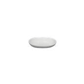 LBR-BL-11.5 Δίσκος Βουτύρου πορσελάνης 11.5x8cm, Σειρά BRILLO, LUKANDA