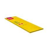 86325400 Τραπεζομάντηλο πολυτελείας με πλαστικό PE 100x100 κίτρινο, FATO Ιταλίας