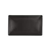 NOIR.190.29 Ορθογώνιο Πιάτο πορσελάνης SUSHI (μαύρο) 29x14.5x2cm