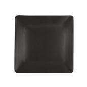 NOIR.190.30 Τετράγωνο Πιάτο πορσελάνης SUSHI (μαύρο) 29x29x2cm