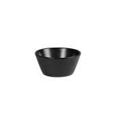 NOIR.126.16 Μπωλ Σαλάτας πορσελάνης κωνικά ASIA (μαύρο) φ16x7.5cm