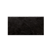 ARD.3015 Ορθογώνια Πιατέλα Πορσελάνης Χειροποίητη (με όψη σχιστόλιθου), 30x15x0.7cm, μάυρη