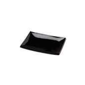 PY0AH990779 /A Δίσκος SUSHI Πορσελάνης 23x16cm, Σειρά PARTY, μαύρος